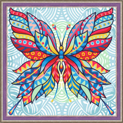 Young Lady with Roses SB549