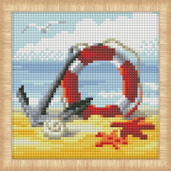 Still Life with Meadow Flowers and Roses after Van Gogh's Painting 1591