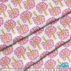 Counted Cross Stitch Kit Iris - Botanical Linen PN/0008049
