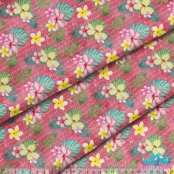 Counted Cross Stitch Kit Rosa - Botanical Linen PN/0008050