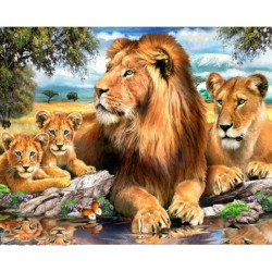 Counted Cross Stitch Kit Girl with Apple Counted Fabric PN/0021200