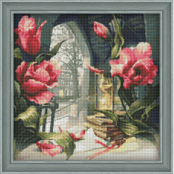 Counted Cross Stitch Kit Four Seasons Counted Fabric PN/0007953