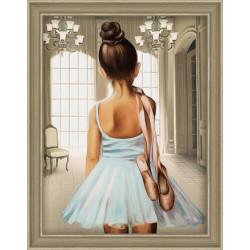 Counted Cross Stitch Kit Buddha Counted Fabric PN/0008040
