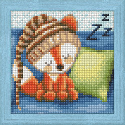Counted Cross Stitch Kit Daffodils on Table Counted Fabric PN/0146980