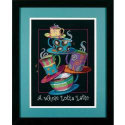 Basket of lilacs SB501