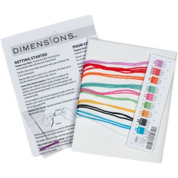 Cross Stitch Handmade Card SA6099