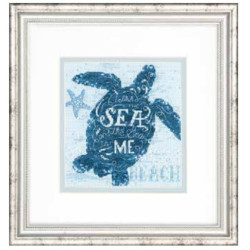 Cross Stitch Handmade Card SA6163