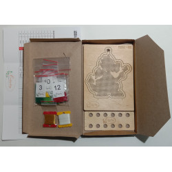 Cross Stitch Kit 11x11 S7517