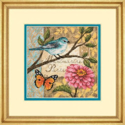 Counted Cross Stitch Kit Sunny Morning Counted Fabric PN/0008017