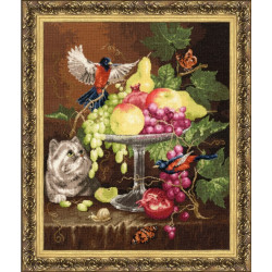 Painting by Numbers Red Cardinals 50x40cm T40500030
