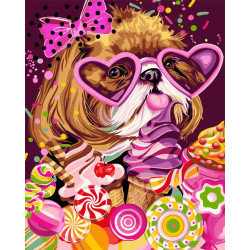 Dots 2mm Rose AM556022T