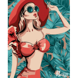 Dots 2mm Dark Rose AM556021T