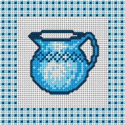 Diamond Painting Kit River among the Trees AZ-1343