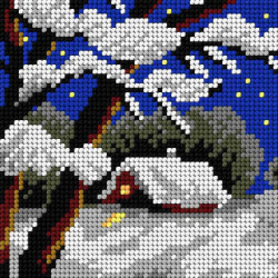 Diamond painting kit Rooster - Fire Force AZ-3001