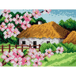 Diamond painting kit Rooster - Water Force AZ-3002