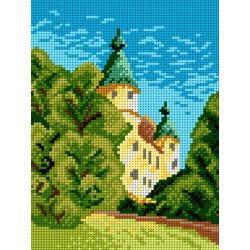 Diamond painting kit Cat with Glasses AZ-3003