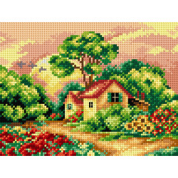 Cross Stitch Handbag SBAG023