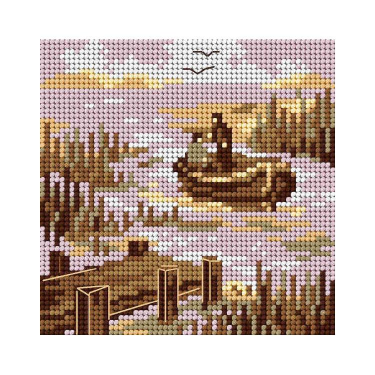 Dekoratyvinės lėlės siuvimo rinkinys AM100012I